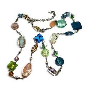 Premier Designs Art Glass Long Necklace
